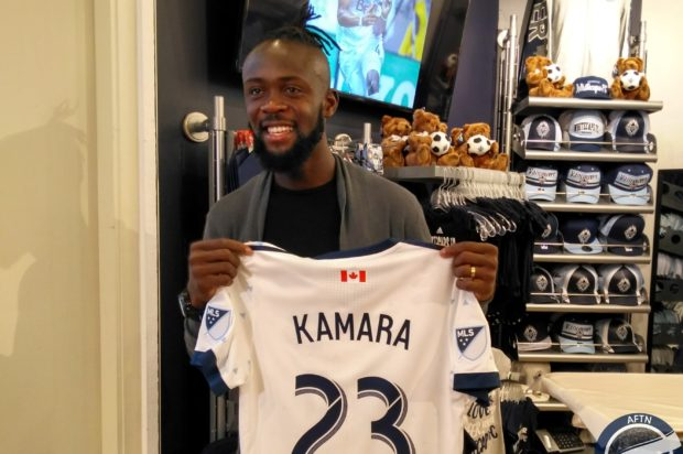 "Kei Kamara in Vancouver ""to be a leader"" and win a championship"