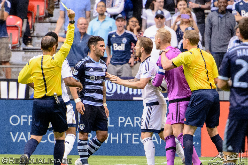 Kendall Waston v Dom Dwyer - The Battle In Pictures (16)