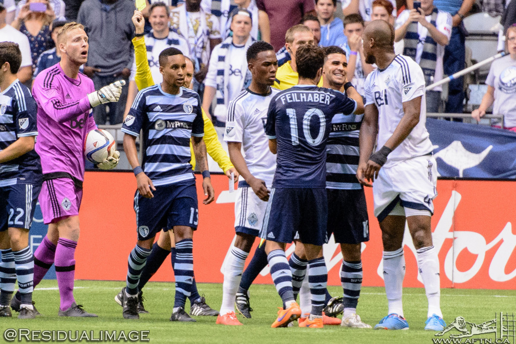 Kendall Waston v Dom Dwyer - The Battle In Pictures (18)