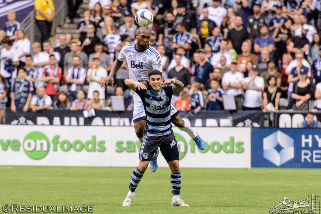 Kendall Waston v Dom Dwyer - The Battle In Pictures (20)
