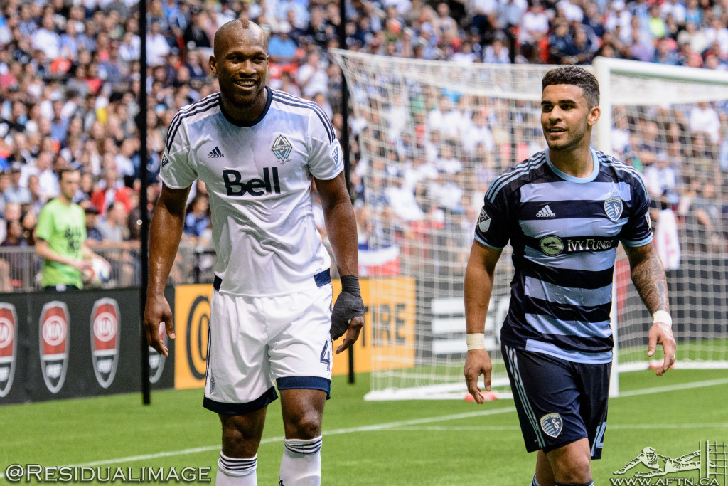 Kendall Waston v Dom Dwyer - The Battle In Pictures (9)