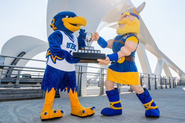 "New Legends Cup adds ""a little bit extra"" to long standing UBC-UVIC rivalry"
