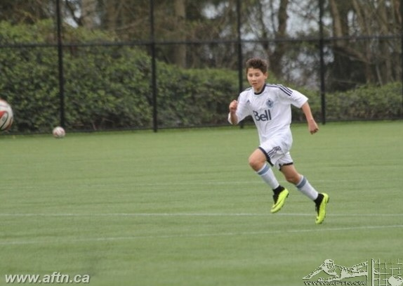 Ten Count with Vancouver Whitecaps U16 player Logan Chung