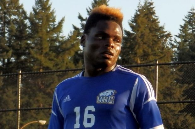 Shumbusho header sees UBC Thunderbirds victorious in season opener