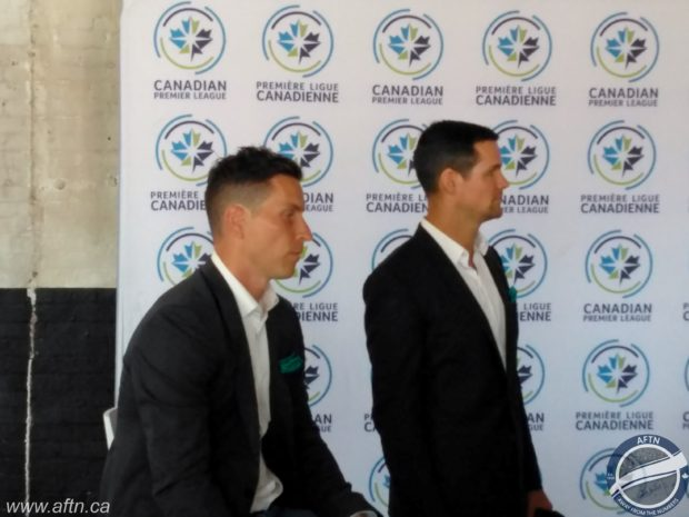 "Josh Simpson hoping Pacific FC can be ""part of the solution"" to take Canadian soccer to the next level and provide development pathway he never had"
