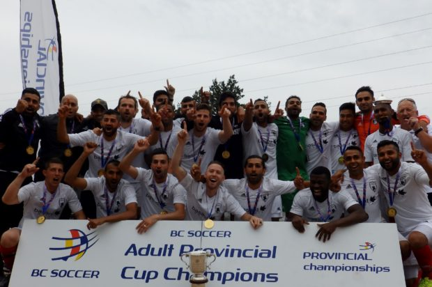 Comeback victory gives Pegasus FC their first BC Provincial A Cup title in five years