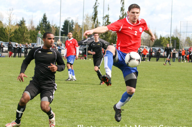 Defending champions Surrey United put out Chilean fire