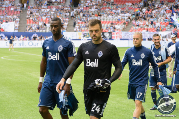 "Stefan Marinovic not here ""to sit on the bench"" as intriguing Whitecaps goalkeeping battle starts to play out"
