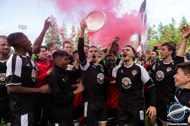 TSS Rovers v Victoria Highlanders – The Juan De Fuca Plate Winning Story In Pictures