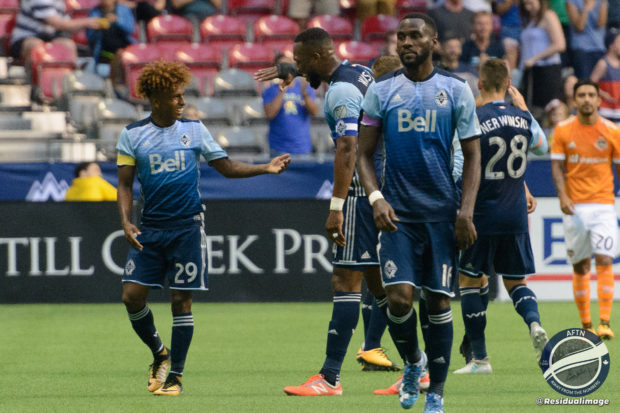 "Report and Reaction: Reyna the ""rash"" strikes terror into Houston and fires Vancouver Whitecaps back into the playoff places"