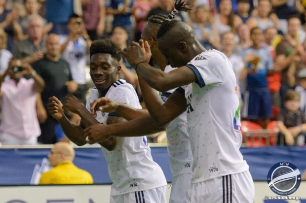 Vancouver Whitecaps v Minnesota United – The Story In Pictures (aka The Alphonso Davies Show)