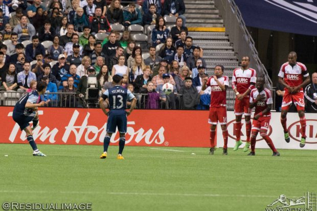 Vancouver Whitecaps v New England Revolution – The Story In Pictures