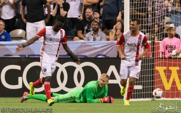Vancouver Whitecaps v San Jose Earthquakes – The Story In Pictures