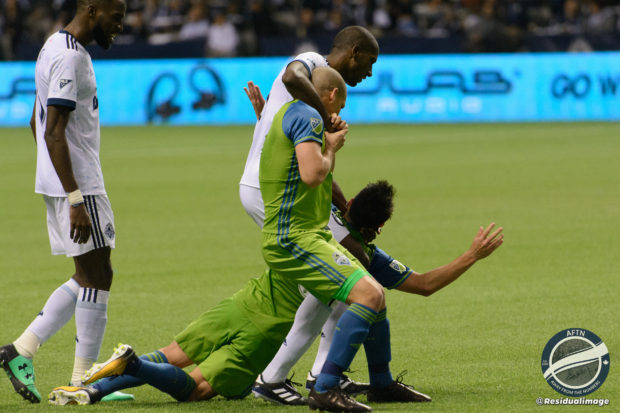 Vancouver Whitecaps v Seattle Sounders – The Playoff Bore In Pictures
