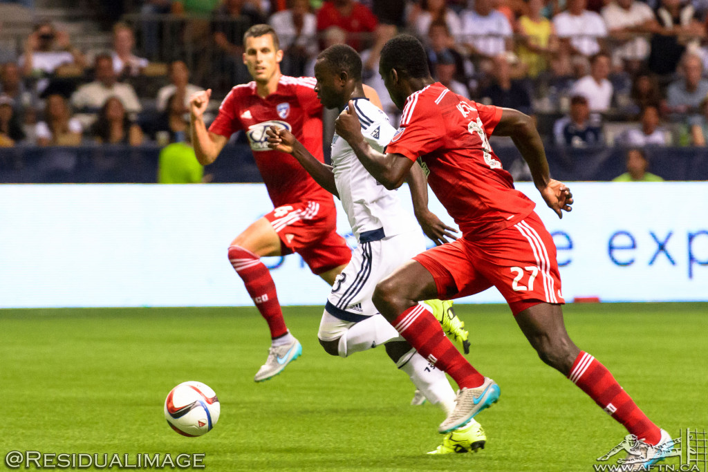 Vancouver Whitecaps v FC Dallas - The Story In Pictures - Aug 2015 (127)