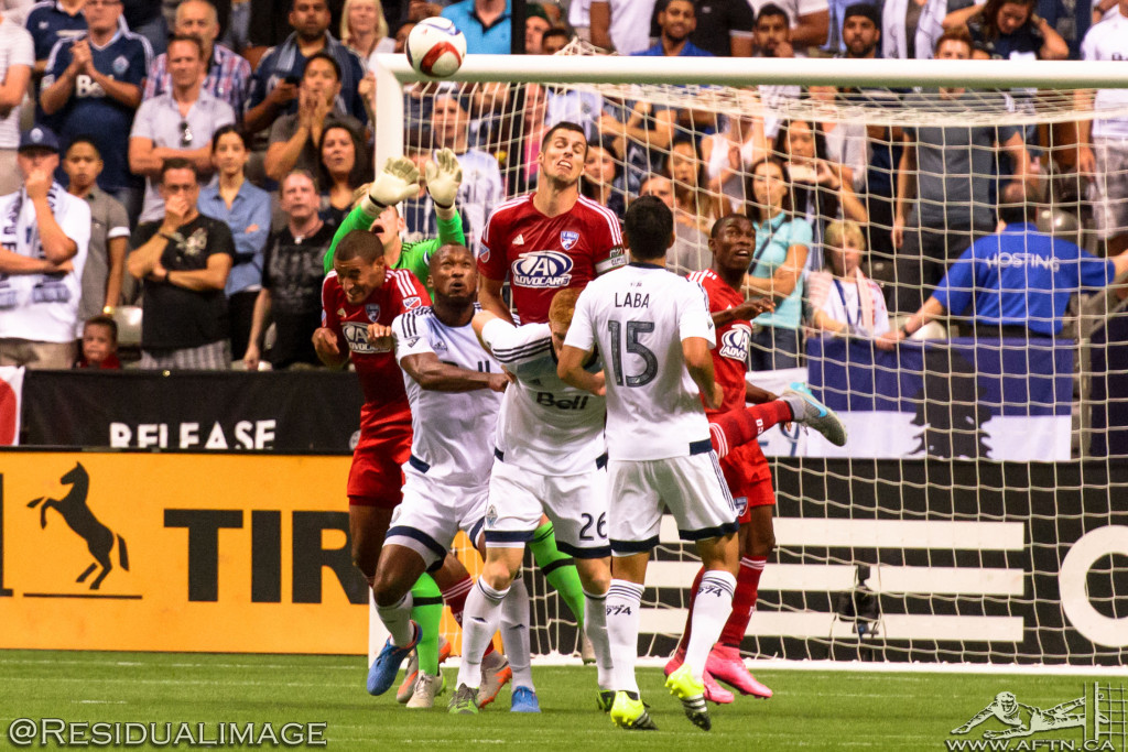 Vancouver Whitecaps v FC Dallas - The Story In Pictures - Aug 2015 (160)