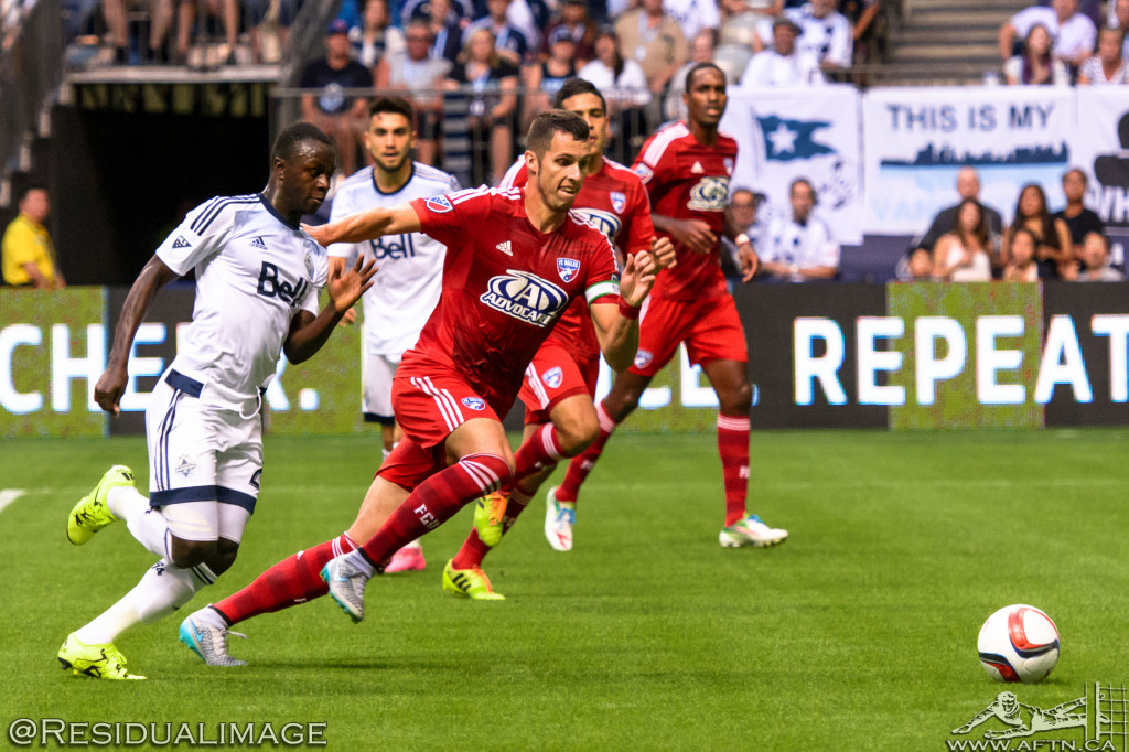 Vancouver Whitecaps v FC Dallas - The Story In Pictures - Aug 2015 (73)