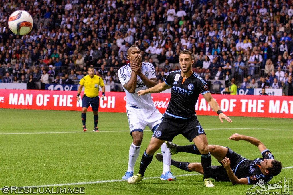 Vancouver Whitecaps v New York City FC - The Story In Pictures (104)