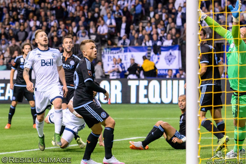 Vancouver Whitecaps v New York City FC - The Story In Pictures (131)