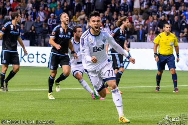Vancouver Whitecaps v New York City – The Story In Pictures