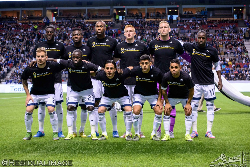 Vancouver Whitecaps v New York City FC - The Story In Pictures (19)