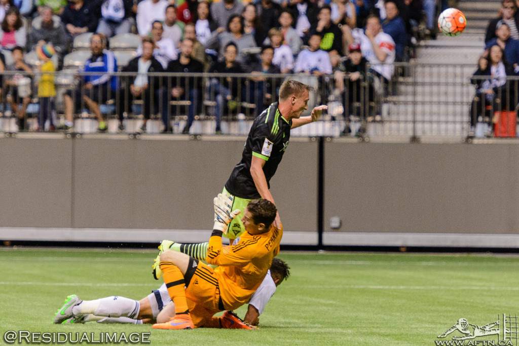 Vancouver Whitecaps v Seattle Sounders - A CCL Story In Pictures (83)