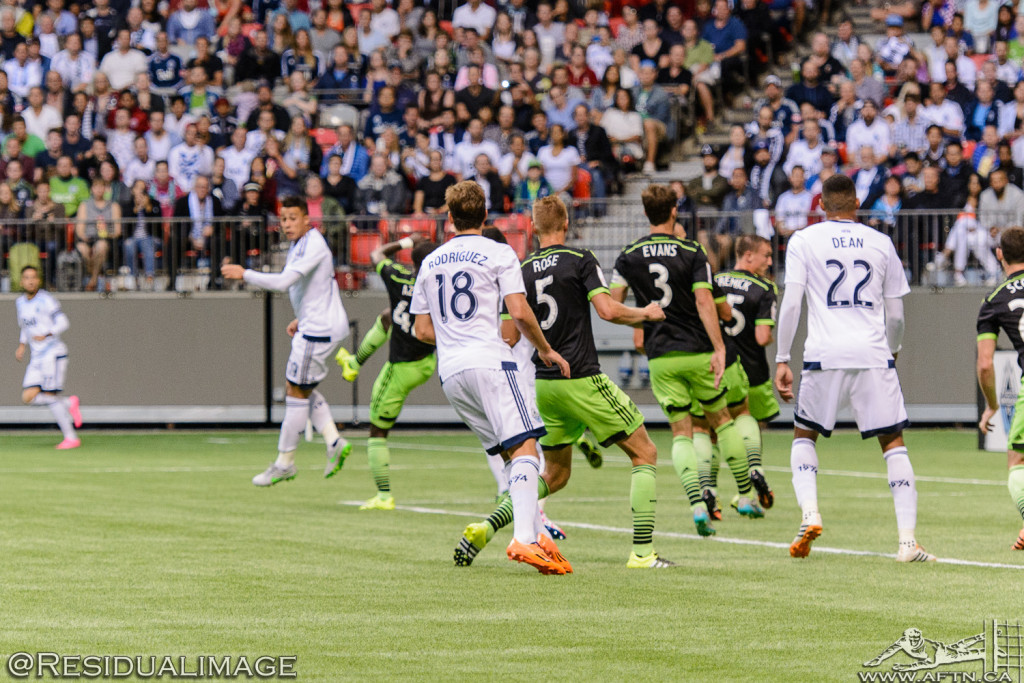 Vancouver Whitecaps v Seattle Sounders - A CCL Story In Pictures (85)