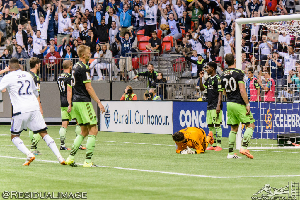 Vancouver Whitecaps v Seattle Sounders - A CCL Story In Pictures (86)