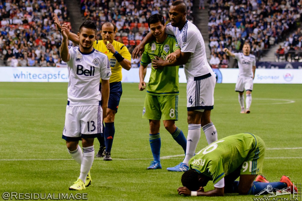Vancouver Whitecaps v Seattle Sounders - The Story In Pictures (121)