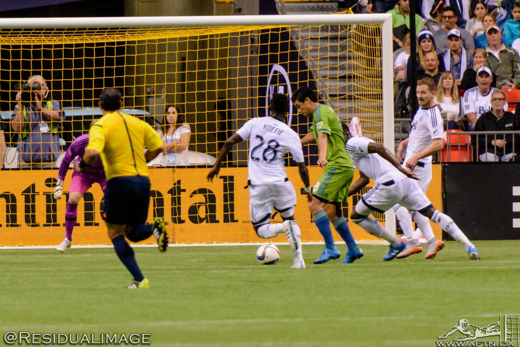 Vancouver Whitecaps v Seattle Sounders - The Story In Pictures (153)