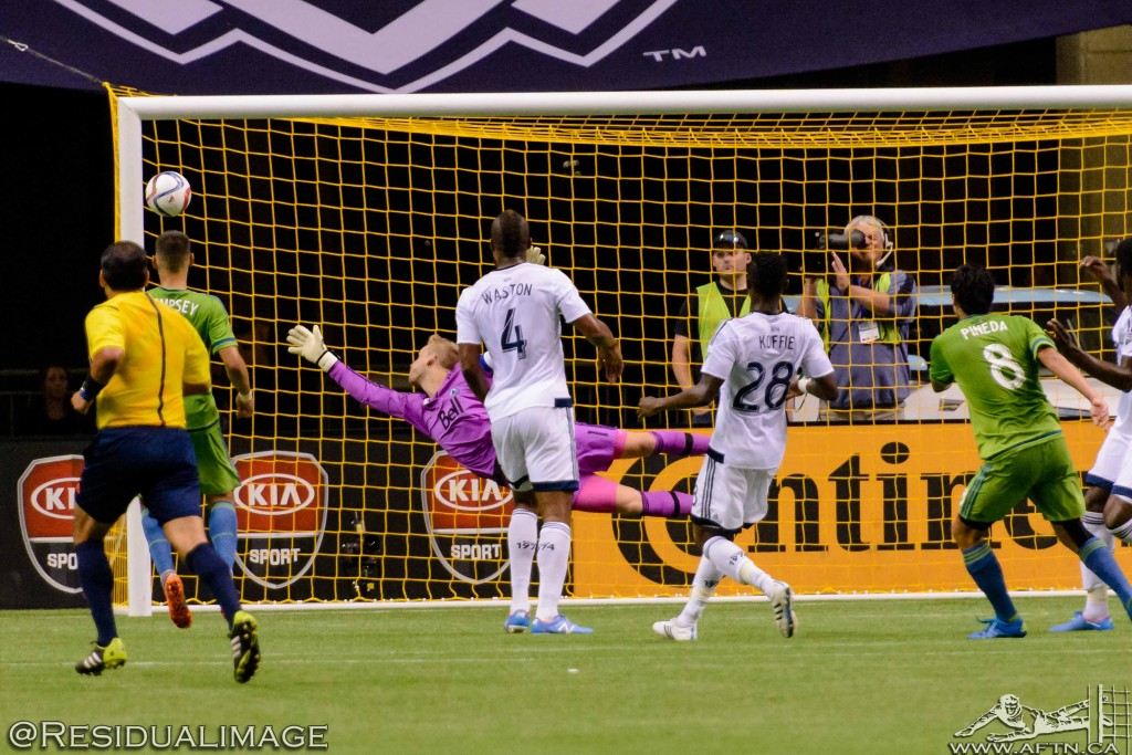 Vancouver Whitecaps v Seattle Sounders - The Story In Pictures (155)