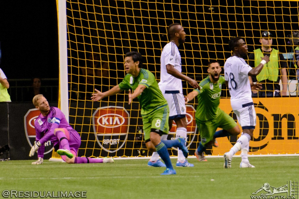 Vancouver Whitecaps v Seattle Sounders - The Story In Pictures (157)