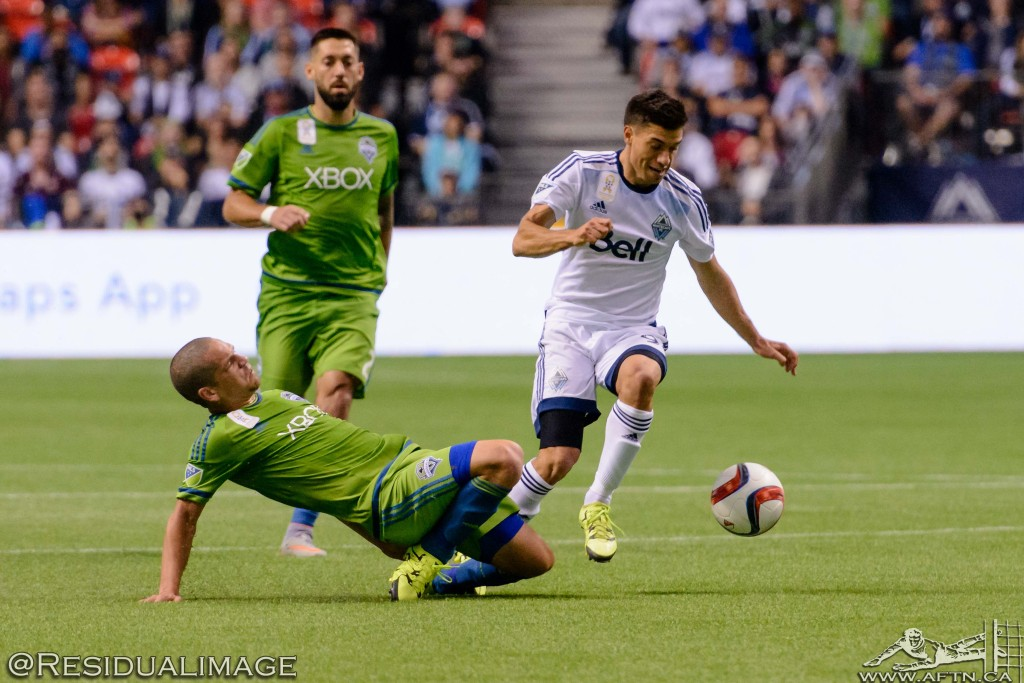 Vancouver Whitecaps v Seattle Sounders - The Story In Pictures (170)