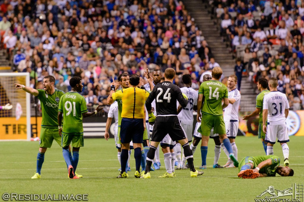 Vancouver Whitecaps v Seattle Sounders - The Story In Pictures (172)