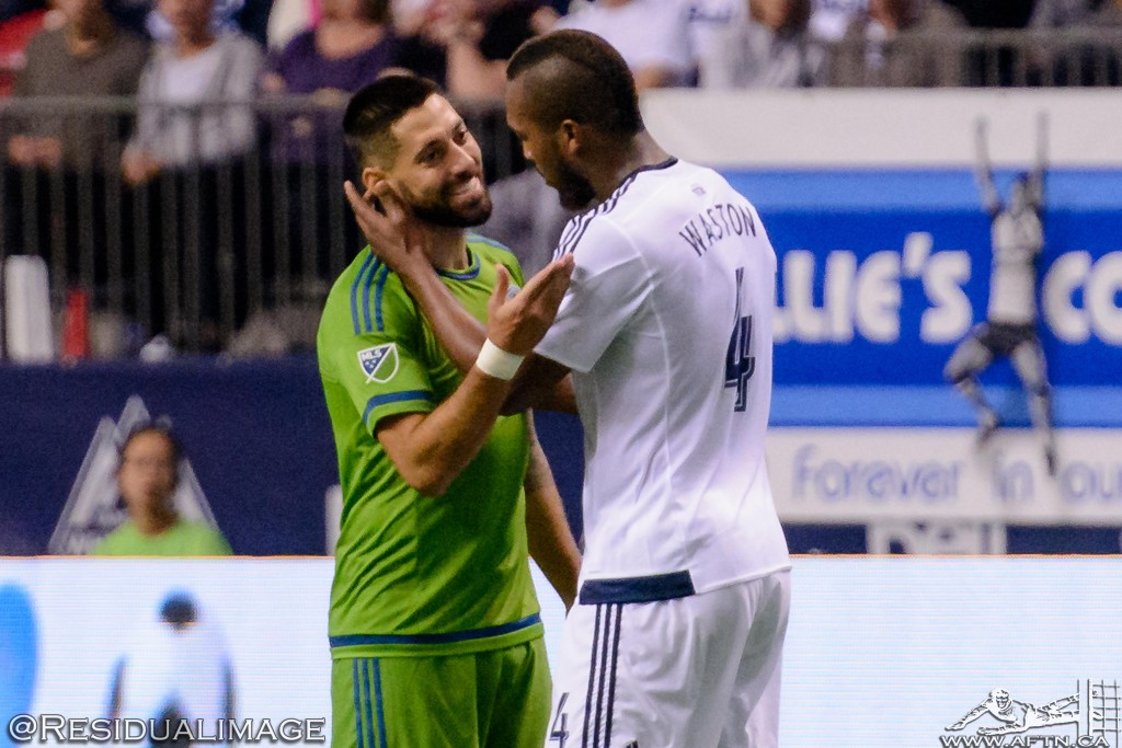 Vancouver Whitecaps v Seattle Sounders - The Story In Pictures (179)