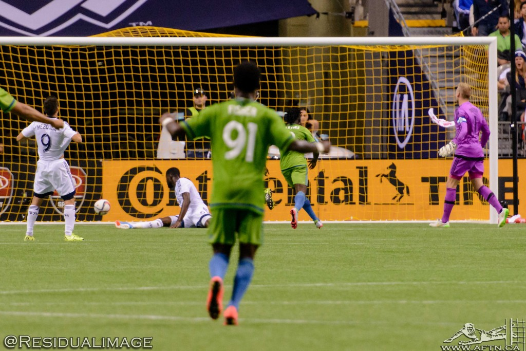 Vancouver Whitecaps v Seattle Sounders - The Story In Pictures (183)