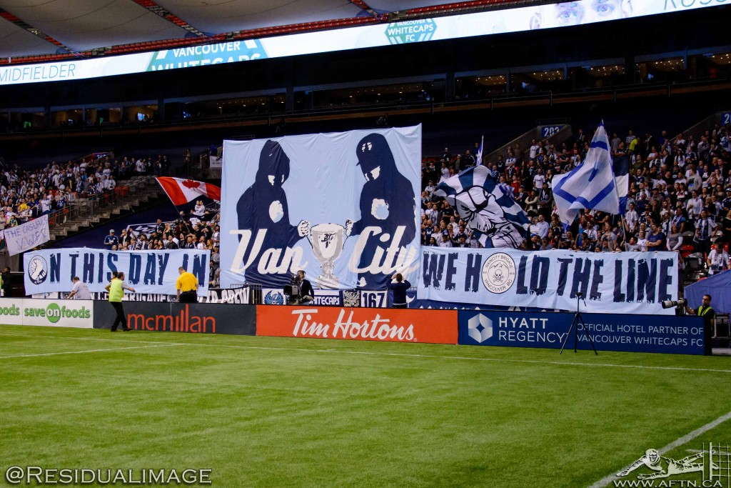 Vancouver Whitecaps v Seattle Sounders - The Story In Pictures (22)