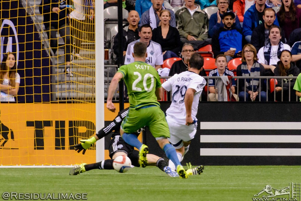 Vancouver Whitecaps v Seattle Sounders - The Story In Pictures (50)