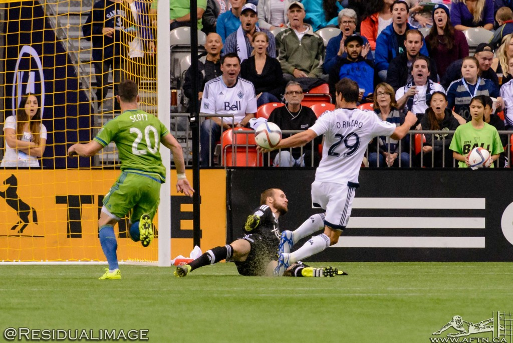 Vancouver Whitecaps v Seattle Sounders - The Story In Pictures (51)