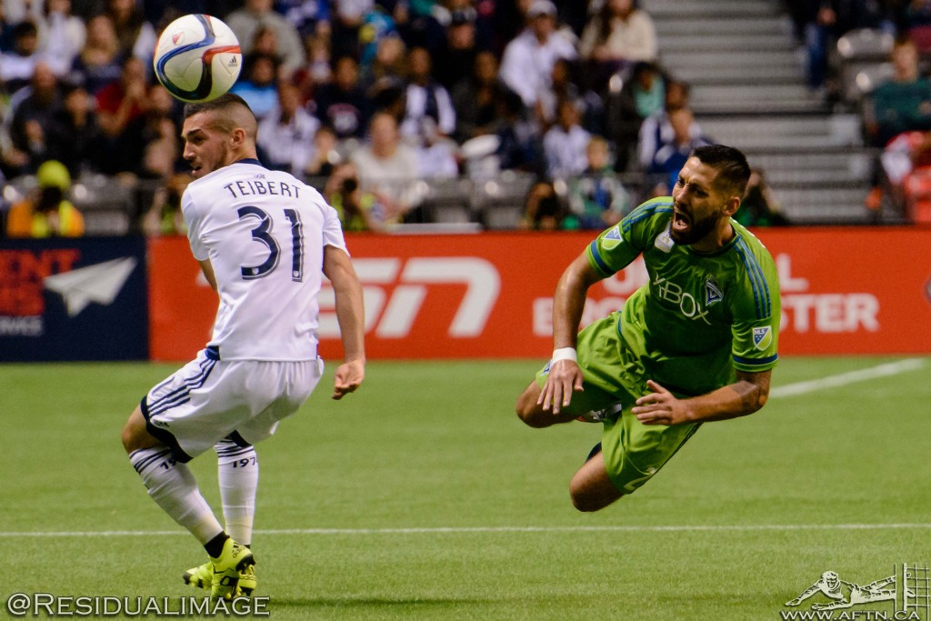 Vancouver Whitecaps v Seattle Sounders - The Story In Pictures (55)