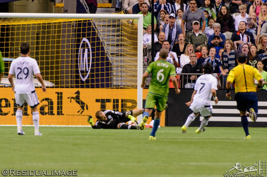 Vancouver Whitecaps v Seattle Sounders - The Story In Pictures (85)