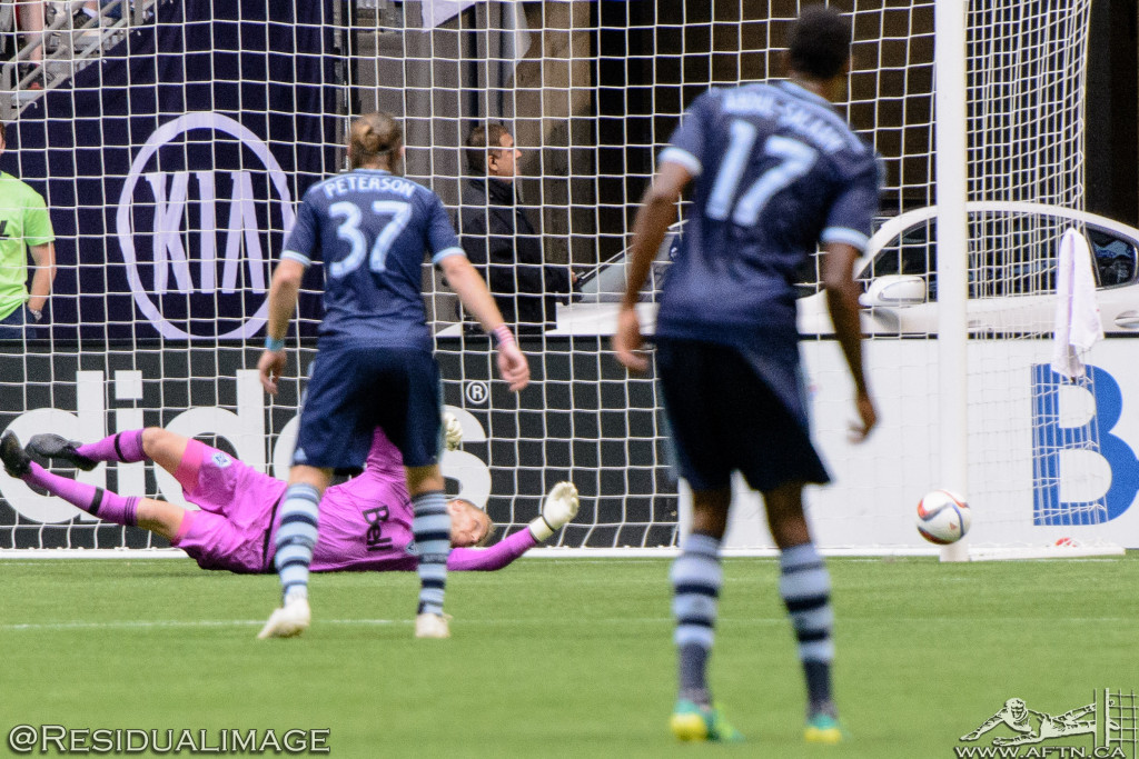 Vancouver Whitecaps v Sporting Kansas City - The Story In Pictures (100)