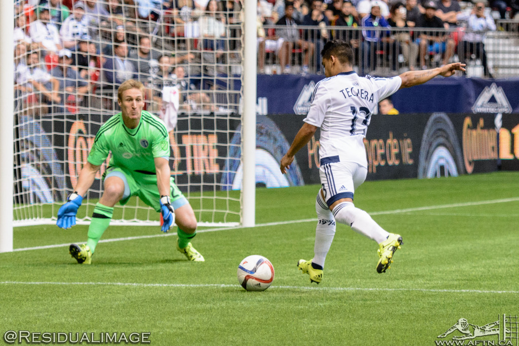 Vancouver Whitecaps v Sporting Kansas City - The Story In Pictures (111)