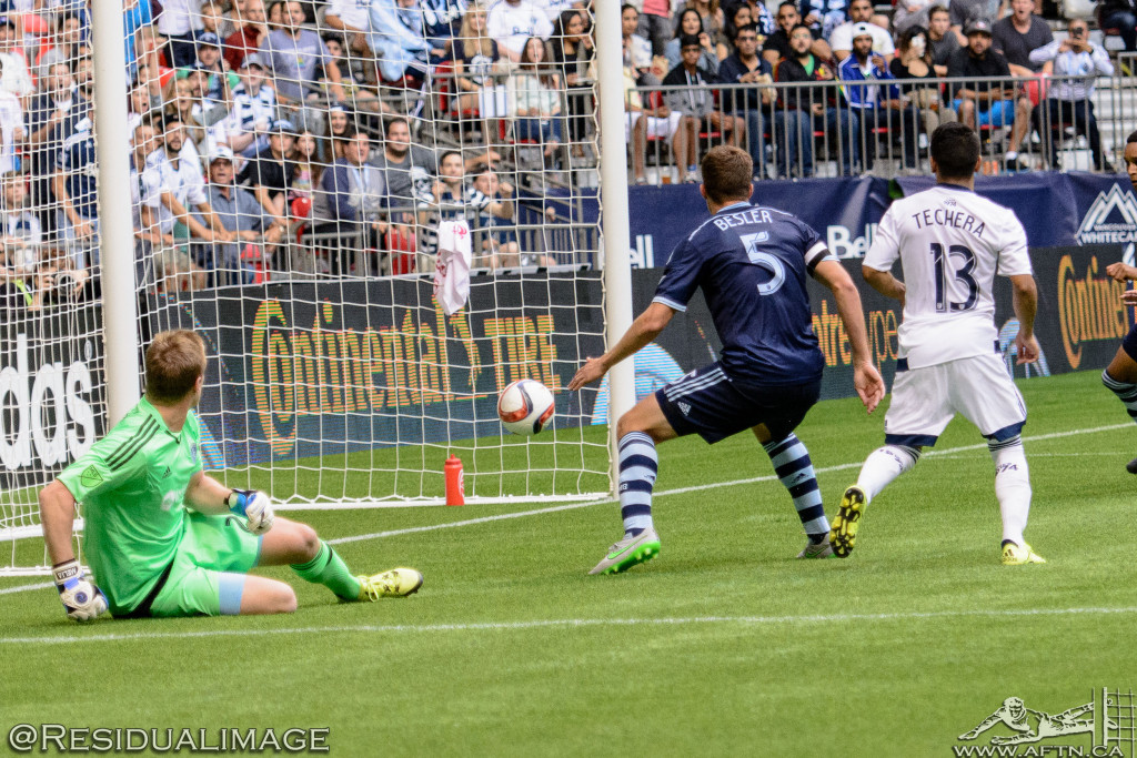 Vancouver Whitecaps v Sporting Kansas City - The Story In Pictures (114)