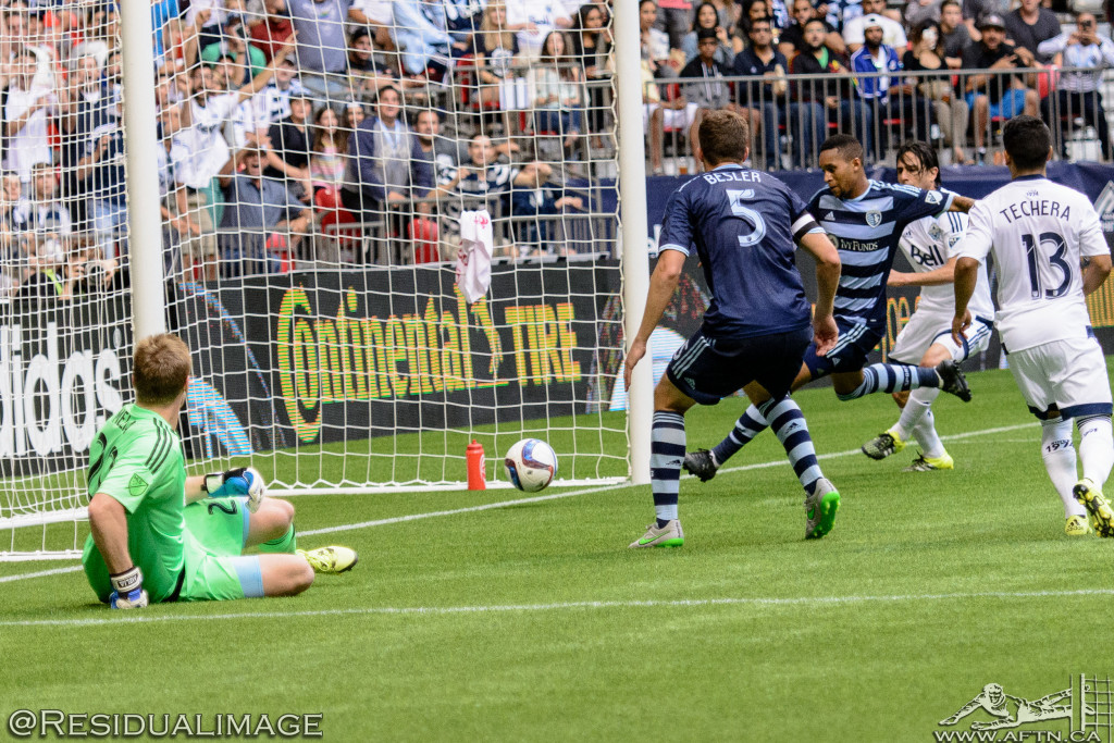 Vancouver Whitecaps v Sporting Kansas City - The Story In Pictures (115)