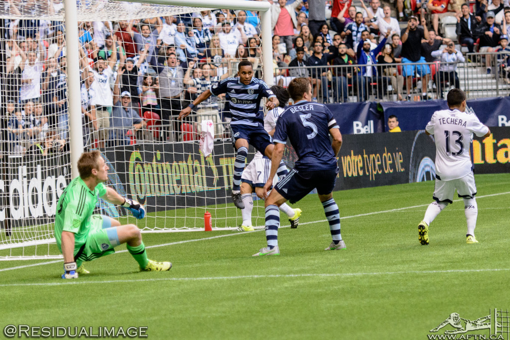Vancouver Whitecaps v Sporting Kansas City - The Story In Pictures (116)