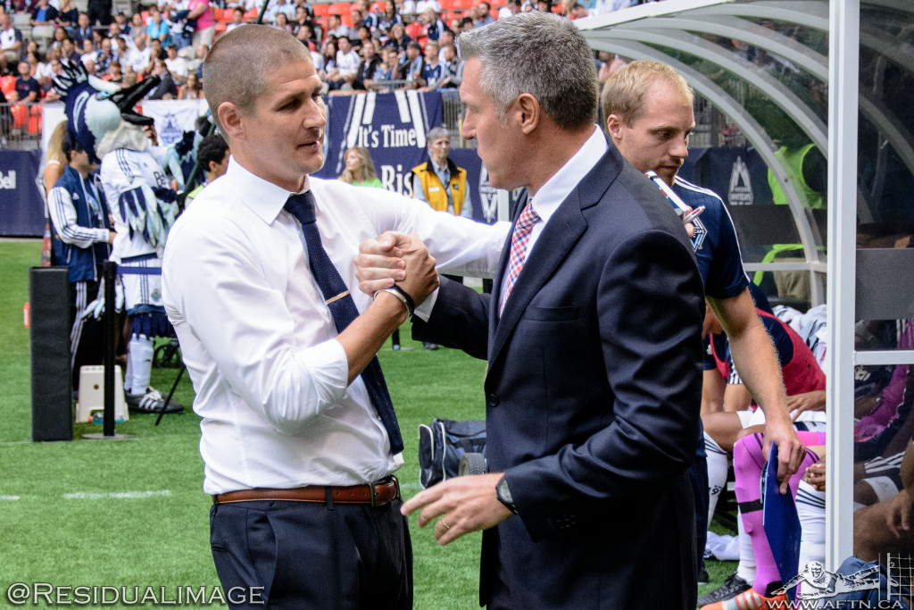 Vancouver Whitecaps v Sporting Kansas City - The Story In Pictures (13)
