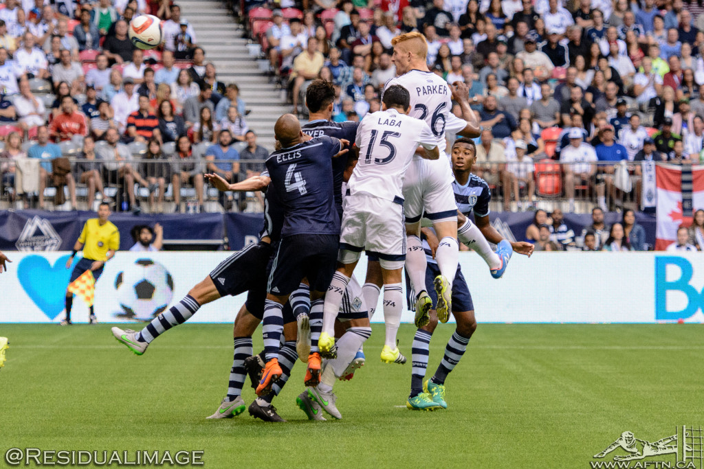 Vancouver Whitecaps v Sporting Kansas City - The Story In Pictures (154)