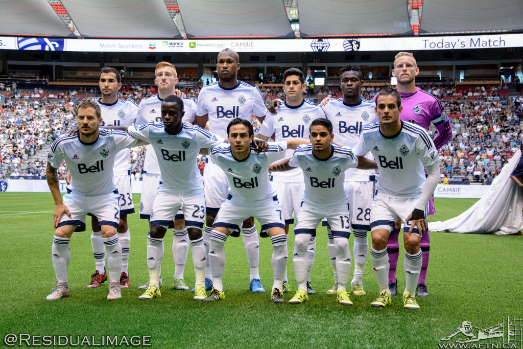Vancouver Whitecaps v Sporting Kansas City - The Story In Pictures (20)
