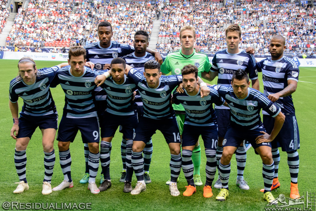 Vancouver Whitecaps v Sporting Kansas City - The Story In Pictures (21)